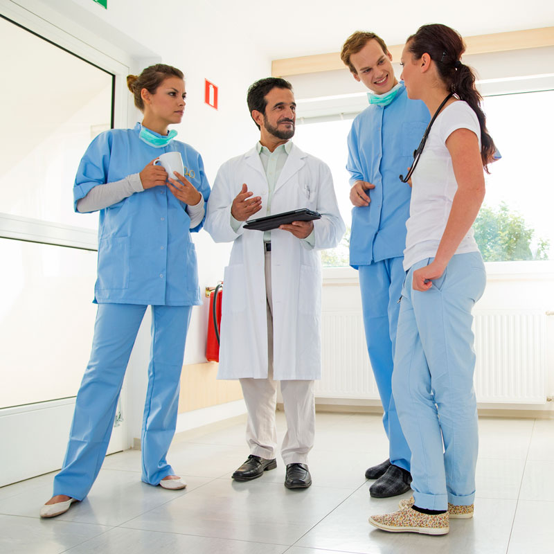 Medical staff consulting